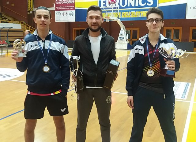 Alan Buccolieri, Ionut Muscalu, Nicola Giove