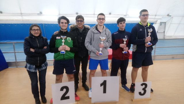 Nicola Giove Primo Juniores Otranto Gennaio 2019
