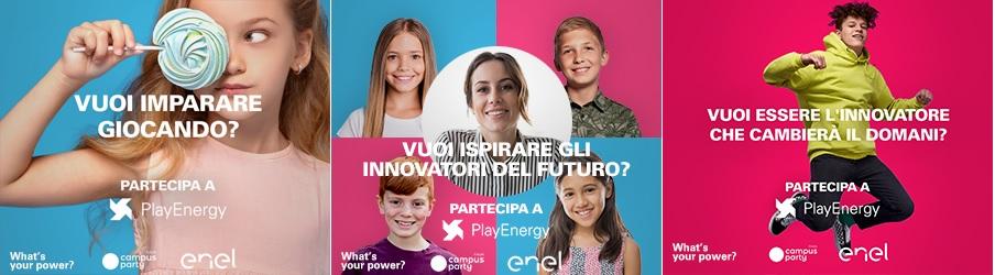 Play Energy è la nuova iniziativa Enel